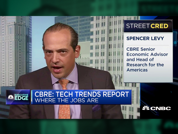 Video - Spencer Levy CNBC on Tech Talent
